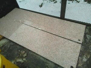 """Two granite countertops 8'x18"""" kitchen office cubicle counter top etc."""