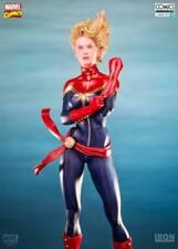 Iron Studios 1/10 Scale Captain Marvel Comics Art Model Toy Gifts
