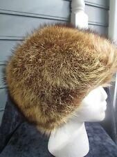 Be a Princess in lovely vtg Canadian lynx hat, perfect condition & so glamorous!
