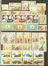 Laos Lot of over 380 Stamps Cancelled #6958