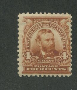 1902 United States Postage Stamp #303 Mint Never Hinged Fine Original Gum