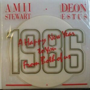 "AMII STEWART / DEON ESTUS ~ My Guy My Girl ~ 7"" Single SHAPED PICTURE DISC"