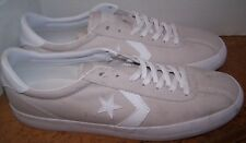 Converse Break Point Low Top Ivory White Canvas M 9 1/2 W 11 Shoes 157795C