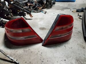 1999 01 02 03 04 05 06 MERCEDES-BENZ W220 S430 S500 LEFT RIGHT REAR TAIL LIGHTS