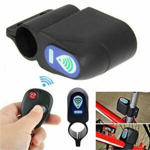 New Wireless Loud Alarm Bike Anti Theft Security Lock Remote Control System