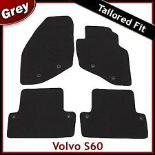 Volvo S60 Tailored Fitted Carpet Car Mats GREY (2001 2002...2005 2006 2007 2008)