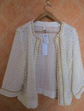 NWT Women's Plus - Chico's Embellished Lace Pattern Jacket Size 4