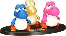 UDF Baby Yoshi 3 set Figures Balloon Bubble Glow Super Mario Nintendo w/Track#