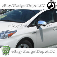 For 2009 2010 2011 2012 2013 2014 2015 Toyota Venza Chrome Mirror Covers