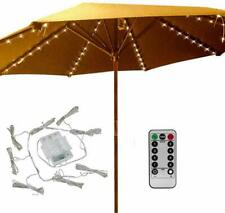 Patio Umbrella Lights 104 RC LED String Lights Waterproof Outdoor Lightings NEW