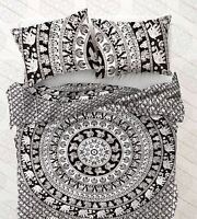 Indian Mandala Duvet Cover Hippie Twin Size Bedding Donna With Pillow Cover Set