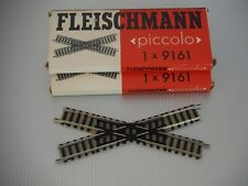 Fleischmann Piccolo incrocio 30° art.9161 lunghezza 115 mm