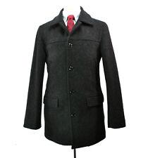 J. Crew University Jacket Coat Small Charcoal Grey Wool Thinsulate Peacoat
