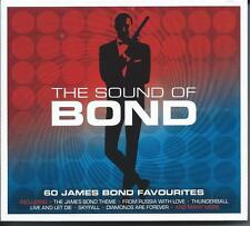 The Sound Of Bond - 60 James Bond Favourites (3CD 2015) NEW/SEALED