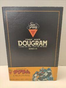 SUN FANG COMABT ARMOR DOUGRAM 1/72 Scale Dual Model Series 1 VINTAGE RARE 1984