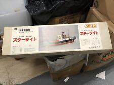 Saito Star Light Steam Coaster Model Ship Kit R/C model new old stock Motor 1/50