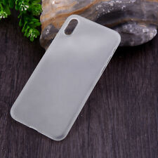 61f9787d03 Ultra Slim Thin 0.4mm Hard Matte PP Protective Case Cover for iPhone X XR XS