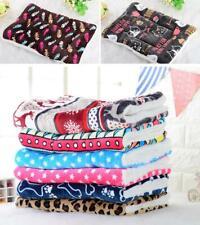 Large Pet dog cat blanket mat kennel mat mattress soft cushion warm washable D1