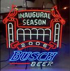 St. Louis Cardinals Busch Stadium Inaugural Season Neon Busch Beer Sign Light