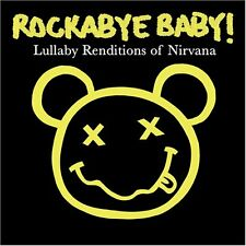 Rockabye baby Nirvana lullaby CD estilo alternativo, gótico, punk rock metal