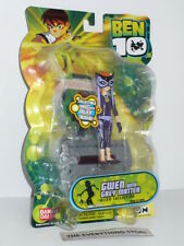 BANDAI BEN 10 GWEN WITH GREY MATTER ALIEN COLLECTION 27225 NEW ON CARD RARE