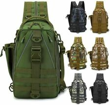 NEW Fishing Tackle Storage Backpack Cross Body Sling Bag Fishing Bag (7 Colors)