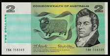 Coombs / Wilson 1966 : Commonwealth of Australia Two Dollar Paper Banknote, aUNC