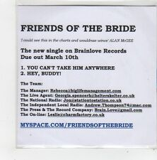 (FN175) Friends Of The Bride, You Can't Take Him Anywhere - 2008 DJ CD