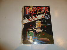 THE TOPPER BOOK Comic Annual - Year 1969 - UK Annual - Damaged Spine