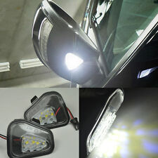 For Vw Volkswagen CC 12-14 EOS Passat 2x Error Free LED Side Mirror Puddle Light