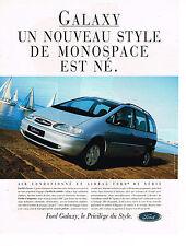 Publicité advertisisng   1994   FORD  GALAXY MONOSPACE