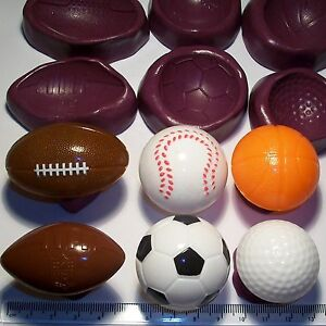 Basket Ball Football Rugby cake decoration mould mold cup cake topper icing