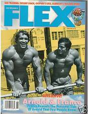 FLEX Bodybuilding muscle magazine Arnold Schwarzenegger / Franco Columbu 6-92