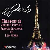 Jacques Prevert Francis Lemarque - A Paris (CD 2000)