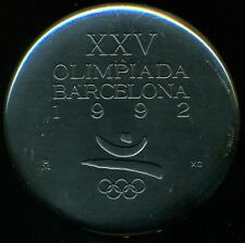 1992 BARCELONA XXVth OLYMPIAD OLYMPIC GAMES OFFICIAL PARTICIPATION MEDAL SEE