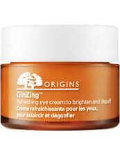 Origins GinZing Refreshing Eye Cream Brighten & Depuff Eyes 15ml FULL SIZE JAR