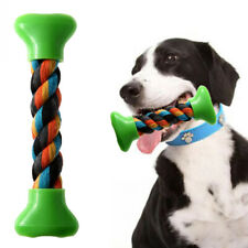 18 cm Dog Toy Cotton Knot Chew Toy Durable  Bone Chew Knot Squeak Chew Sound v