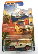Matchbox Jurassic World Legacy '93 Jeep Wrangler. #12. NEW VHTF