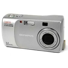Olympus Camedia C-310 Vintage 3.2MP Digital Compact Point & Shoot Camera