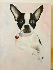 Custom Pet Animal Dog Cat Portrait Great Christmas Birthday Gift ! Oil Painting