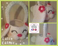 Panier LAPIN, Pâques, Patron amigurumi, sac enfant CROCHET knitting Pattern PDF