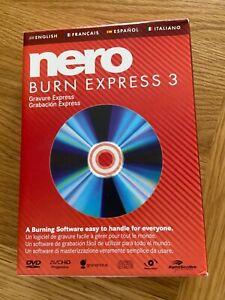 Nero burn express 3