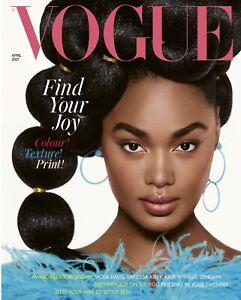 Vogue Magazine UK April 2021 -  NEW