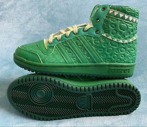 Youth Adidas Disney Toy Story x Top Ten Hi J 'Rex' Shoes Size: 5.5  Green FZ4531