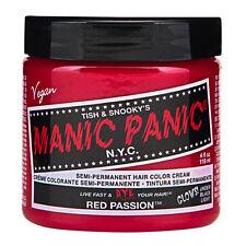 Manic Panic Classic Hair Dye Color Red Passion Vegan 118ml Manic-Panic