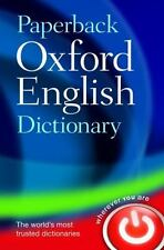 Paperback Oxford English Dictionary (French Edition)