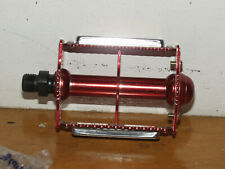 Vintage Early 80'S Nos Mks Red Cage Rat Trap Pedals Bmx Bike In Box