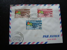 TOGO - enveloppe 1er jour 27/4/1963 (cy37)