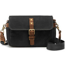 ONA BOWERY – BLACK – WAXED CANVAS PHOTOGRAPHIC BAG W/ BONUS SLIK MINI 8 TRIPOD