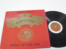 """HAWKWIND Spirit of the Age  (Solstice Remixes) - UK 12"""" Maxi Single  LIMITED"""